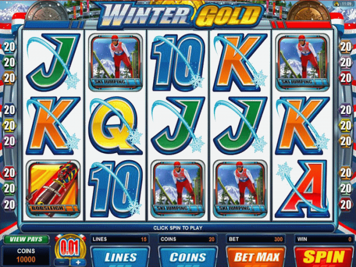Winter Gold Slots